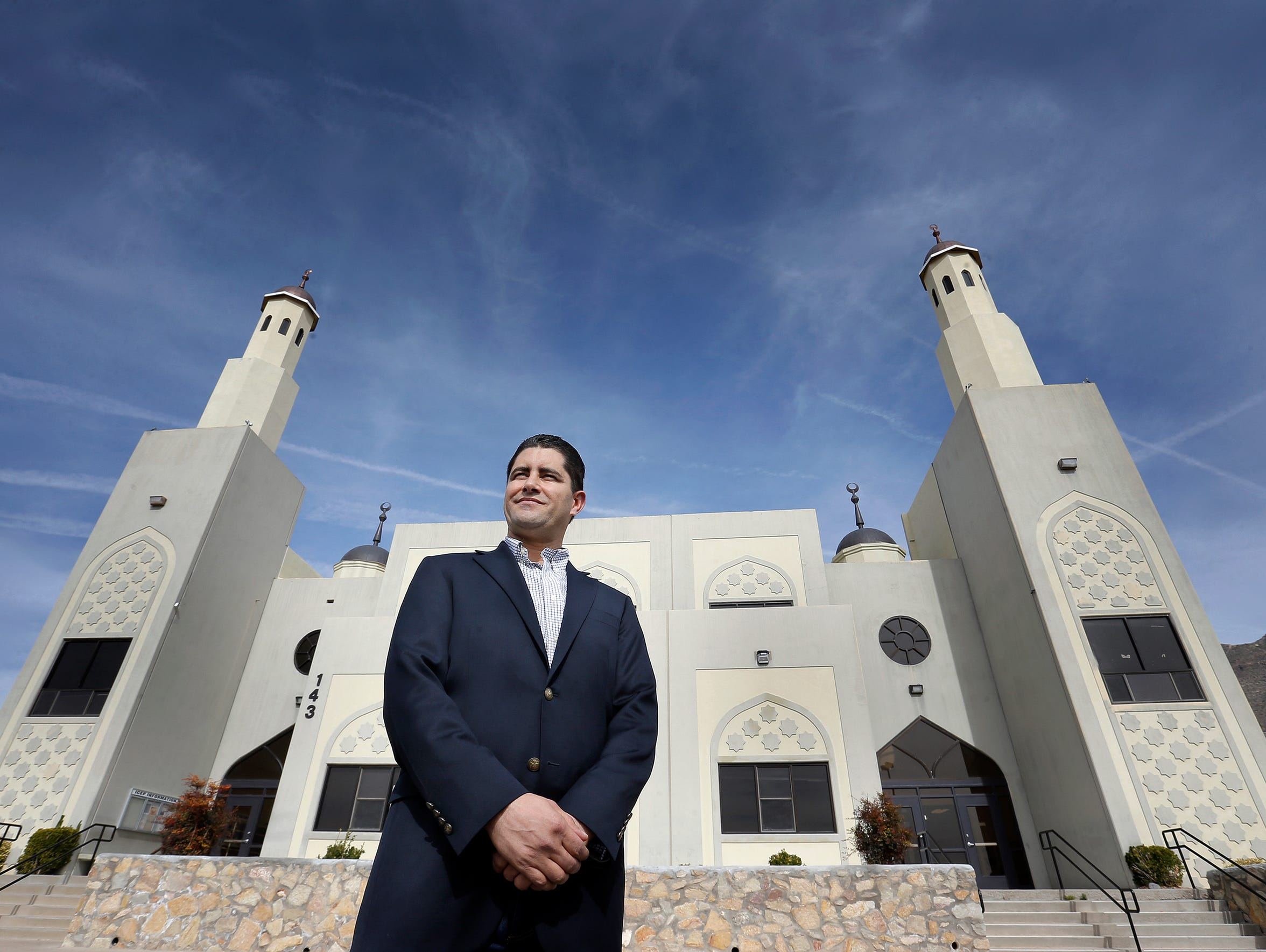 Ali Mchiri, who is on the board of the Islamic Center