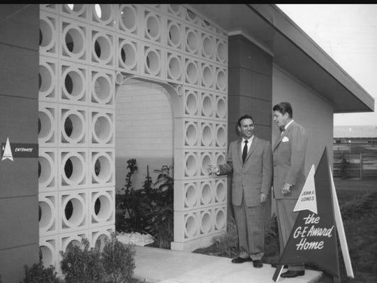"""Ronald Reagan, futuro presidente de los Estados Unidos y portavoz de General Electric, promovió el modelo hogareño """"eléctrico"""" de Long, alrededor de la década de 1950. Buster Keaton, actor cómico, fue otra celebridad cuyos videos promocionales de Maryvale se pueden encontrar en YouTube. Son bastante entretenidos."""