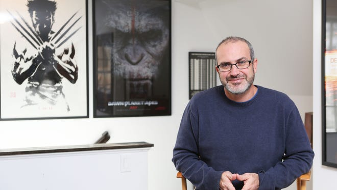 """New Rochelle native Mark Bomback, the screenwriter behind """"Dawn of the Planet of the Apes,"""" """"The Wolverine"""" and """"Live Free or Die Hard,"""" at home in Mount Kisco. Bomback will lead off the Lohud Influencers Speaker Series at the Chappaqua Library Theater."""