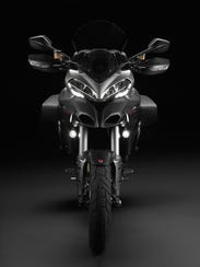 The Multistrada boasts 150 hp.