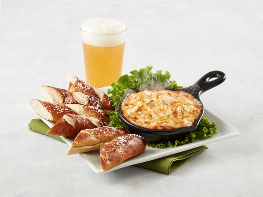 Crab dip is part of Sunday's buffet at Greene Turtle
