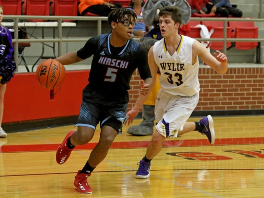 Hirschi senior Rashad Green transformed his game this season and earned TABC all-state recognition.