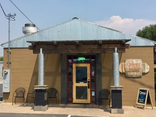 Oxbow Café & Bistro occupies renovated digs in the Dickerson arts and industrial district west of Keystone Avenue.