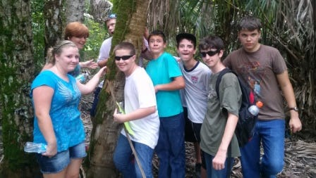Specialty camps are held at Caloosahatchee Regional Park.