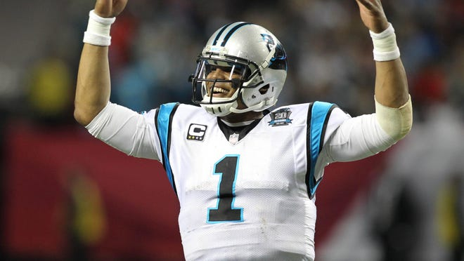 Carolina quarterback Cam Newton has had 27 games with both a rushing and passing touchdown, second most in NFL history.