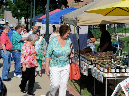 The Baxter County Farmers Market will return for the 2020 season this Saturday.