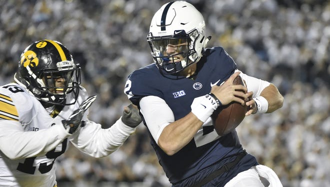 Even backup quarterback Tommy Stevens is making a serious imprint now on Penn State's success. He was second Saturday with 70 rushing yards, putting the Lions' offense in a very good place to be.