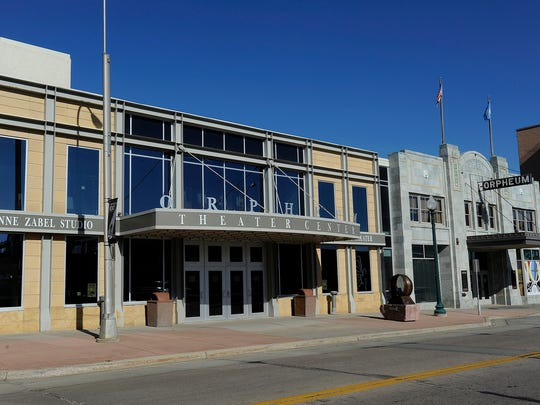 Orpheum Theater in downtown Sioux Falls, S.D., Tuesday, Aug., 12, 2014.