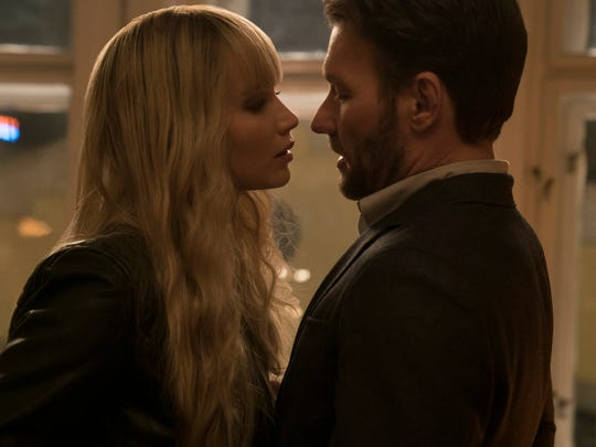 Dominkia (Jennifer Lawrence) and Nate (Joel Edgerton)