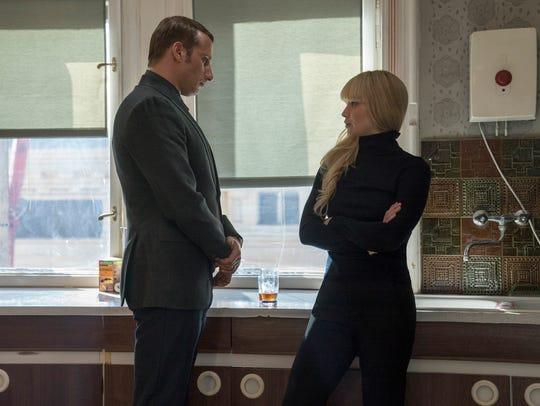 Vanya (Matthias Schoenaerts) enlists his niece (Jennifer