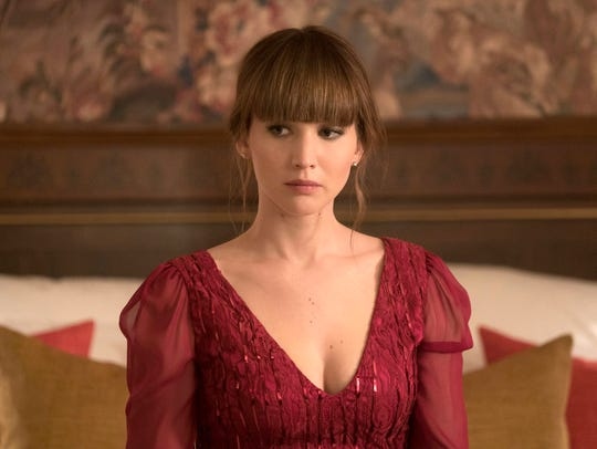 "Jennifer Lawrence got her spy on in ""Red Sparrow."""
