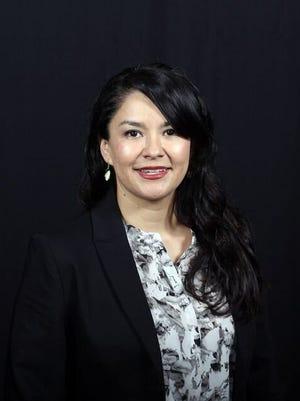 Democratic legislative candidate Red Dawn Foster of Pine Ridge.