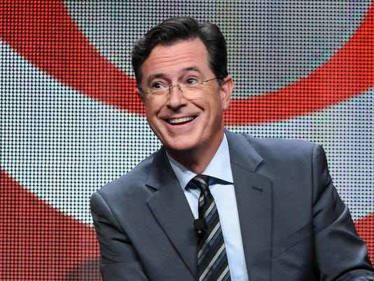 AP TV-COLBERTÍS CLOSE CALL A FILE ENT USA CA