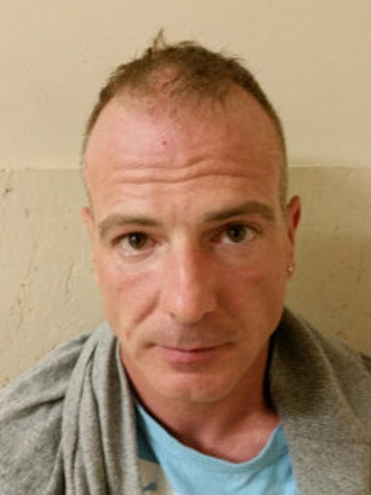 Kurt B. Snyder, 44, of Lemoyne, arrested in connection with an attempted robbery in Fairview Township.