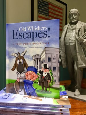 "Gary Varvel illustrated the first book in the Grandpa President Adventure series, ""Old Whiskers Escapes!"""