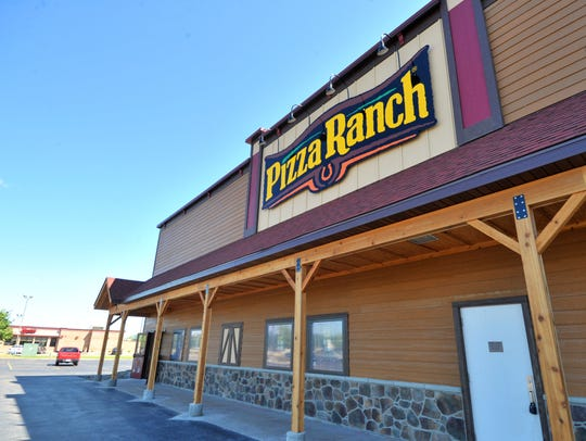 A Pizza Ranch restaurant located at 2715 Schofield
