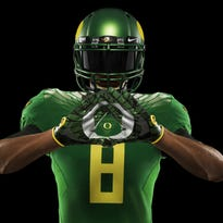 Nike unveiled the uniforms for the College Football Playoff teams.
