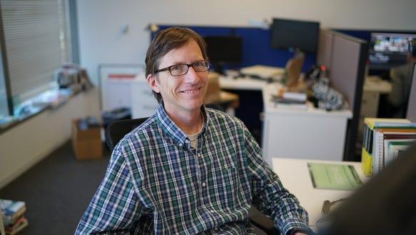 Former USA TODAY markets columnist Matt Krantz, at