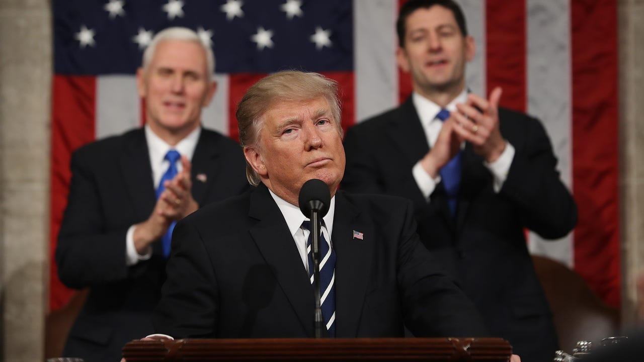 Trump looks to reset with first State of the Union