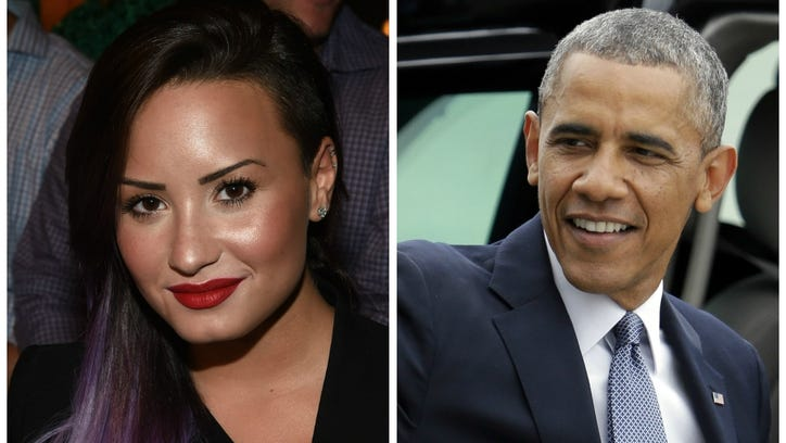 The time when Demi Lovato assured Obama he wasn't stupid