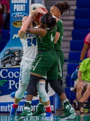 Rebounding will be a key for FGCU's women when they host Kennesaw State on  Saturday.