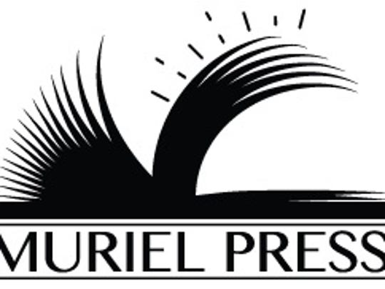 The student-designed logo for The Muriel Press.