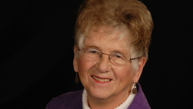 Judy Cooper crossed the finish line on July 23, 2014 into the presence of her Lord and Savior, joining her parents who went before her.