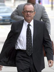 Tim Blixseth arrives at the federal courthouse in Missoula,