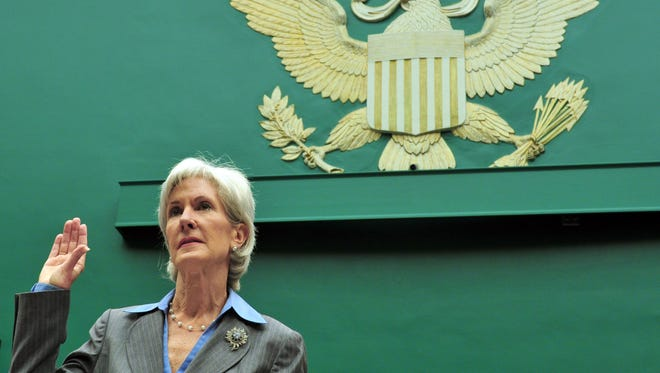Health and Human Services Secretary Kathleen Sebelius testified about the HealthCare.gov website Wednesday.