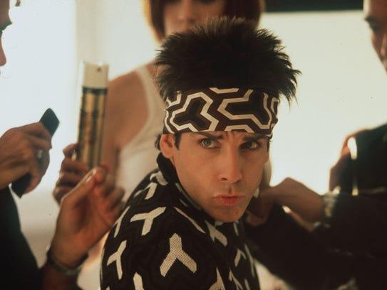 -  -Ben Stiller, shown portraying Derek Zoolander in