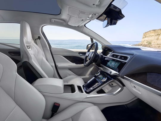 The mid-sized Jaguar I-PACE will boast full-size interior