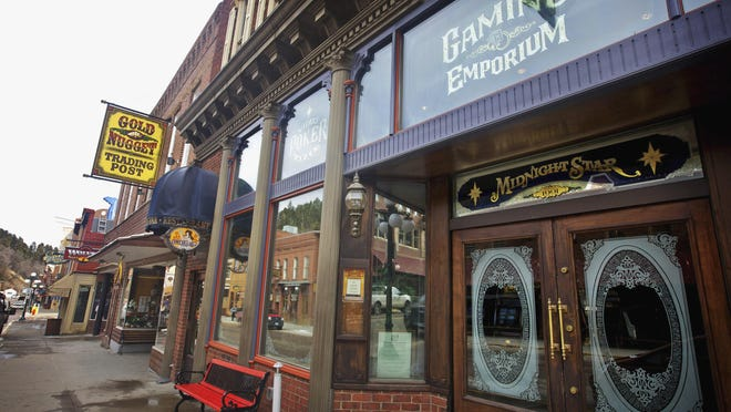 File photo of downtown Deadwood.