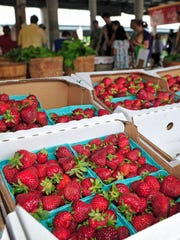The Nashville Farmers' Market's 4th Annual Strawberry Jubilee is Saturday, May 5 from 10 a.m. – 4 p.m.