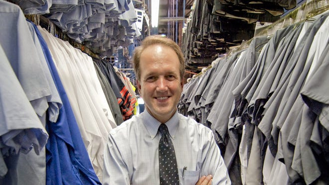 Mickey Harlow, president of Paramount Uniforms, in August 25, 2010 file photo.