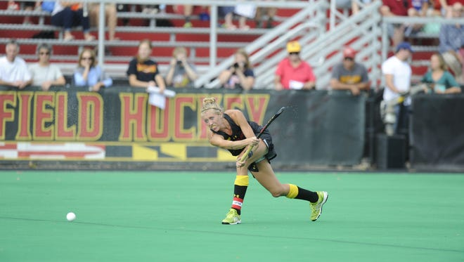 Pocomoke graduate Kasey Tapman and her teammates are fresh off a Big 10 Tournament title they won Sunday in 5-1 style against No. 10 Michigan.