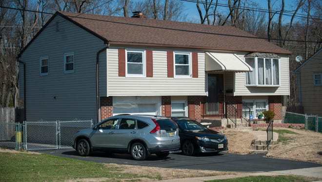 Police say a man shot his wife before killing himself early Wednesday morning in this home on the 200 block of Roosevelt Avenue in Edgewater Park.