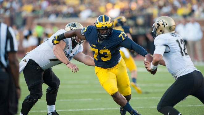 Michigan defensive tackle Maurice Hurst was a near lock to be a first-round pick before an off-the-field health issue surfaced before the NFL Combine.