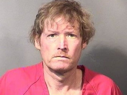 Warren Buchanan, 51, of Titusville, in a mugshot taken shortly after his arrest on manslaughter charges in January 2016.