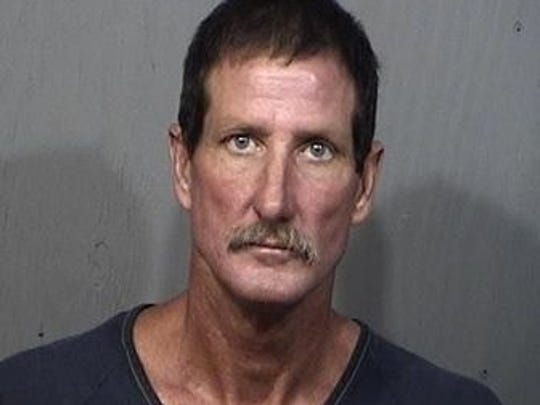 Timothy Upthegrove, 52, of Titusville, charges: Contempt