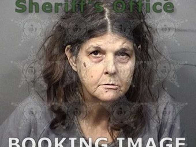 Deborah Champagne, 61, of Titusville, charges: Battery