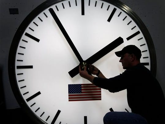 Most Americans will set their clocks 60 minutes back before heading to bed Saturday night.