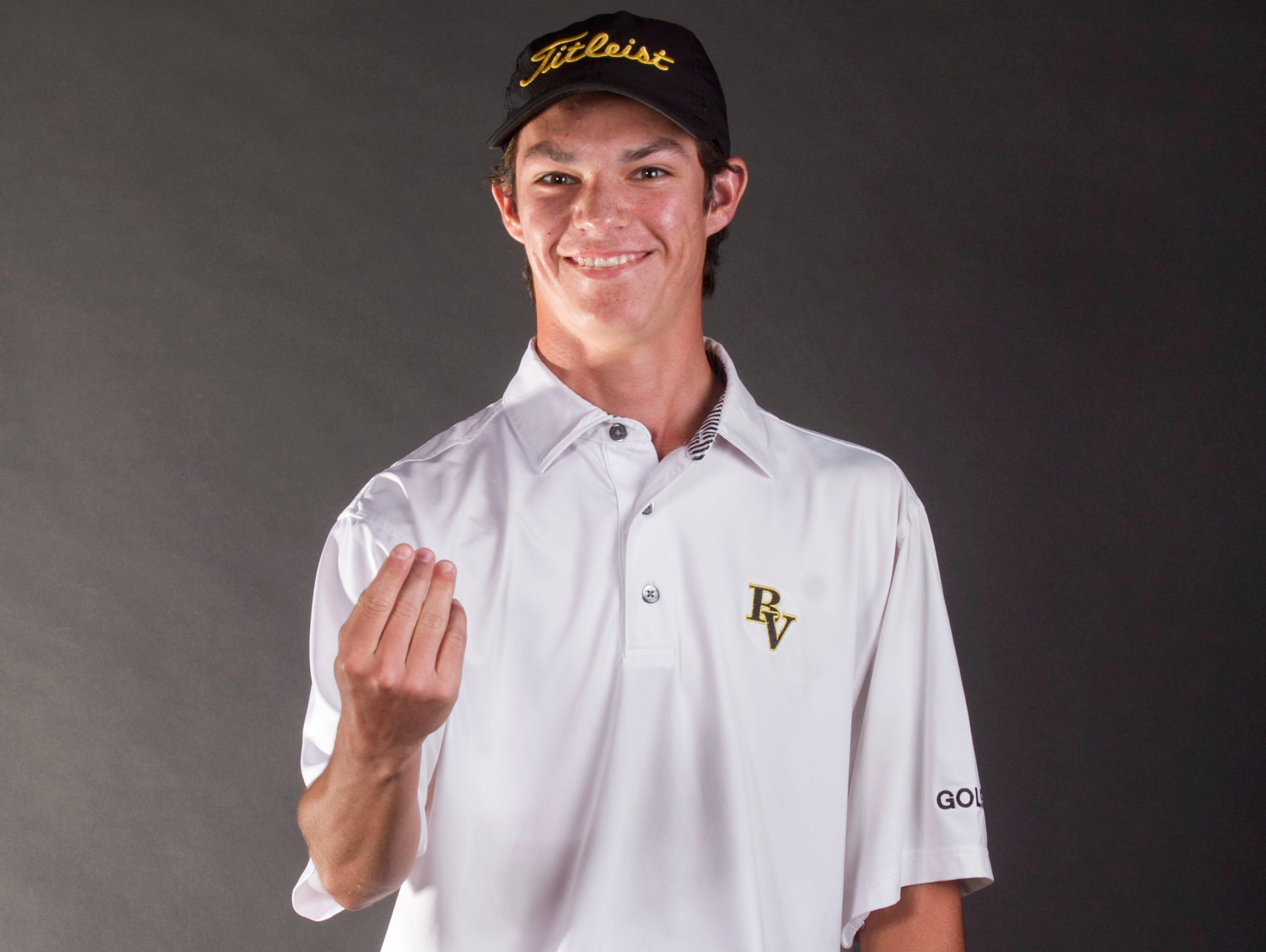 Blake Wheeler, Bishop Verot, golf