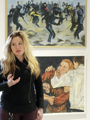 Maiza Hixson, former curator at the Delaware Center for the Contemporary Arts, is co-organizing The Shaft pop-up art gallery in Wilmington.
