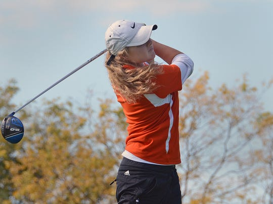Brighton's Jennica Long shot a 5-over-par 79 at Dunham Hills, leading the Bulldogs to a fourth-place finish. Brighton failed to qualify for the state meet for the first time since 2005.