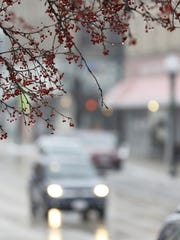 Icy roads and fog made for slippery travel Jan. 17,