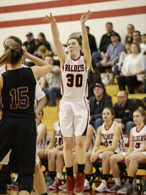 Valders junior Alissa Wagner was a unanimous first-team selection in the Eastern Wisconsin Conference this season.
