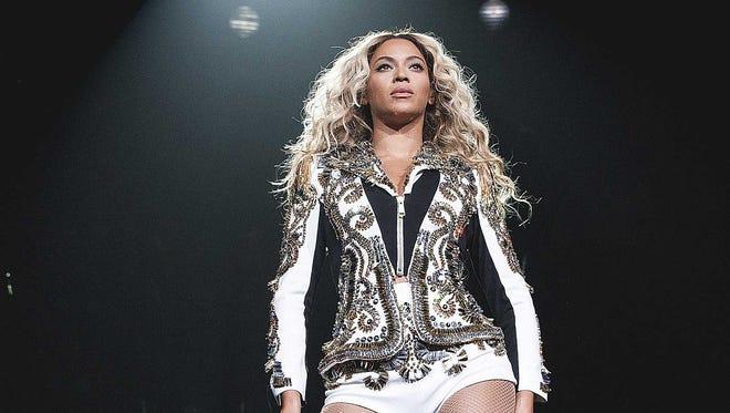 Beyonce in Louisville.