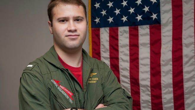 Lt. j.g. Joshua Cohen of Greenville