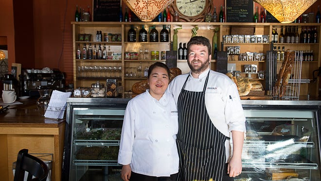 Rezaz, on Hendersonville Road in Biltmore Village, is now owned by Brian and Laura Smith.