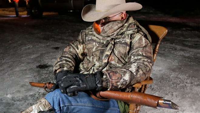 """Arizona rancher LaVoy Finicum, remembered to bring his rifle to the Malheur National Wildlife Refuge, but his group forgot snacks. Finicum later told reporters that wanted to go home because """"I got cows that are scattered and lost."""""""